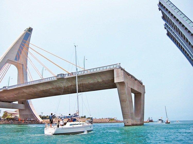 台鹏湾跨海大桥造价21亿 开桥秀 四个月故障两次