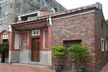 在台湾鹿港遇见闽南红砖古厝
