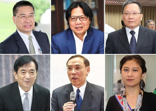 """台当局""""内阁""""改组6人底定。图片来源:台湾《联合报》资料照"""
