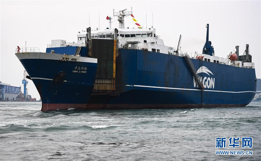 高雄至平潭开通海上货运直航台湾产品9小时对接大陆市场