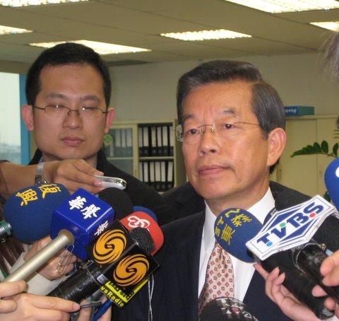 谢长廷声称 国民党会把民进党打成 贪腐集团