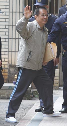 陈水扁今将戒护外医 须戴手铐脚镣做检查