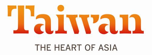"""heart of asia""""新品牌logo展示,以简洁,创新的字体,传达""""亚洲心,台湾"""